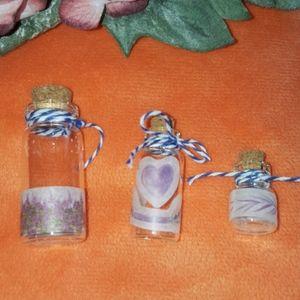 ❤️ Mini Jar Set of 3